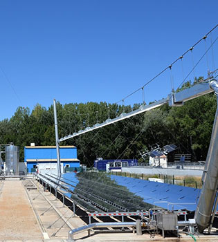 Solar thermal plants - ALSOLEN